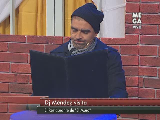 Dj Méndez visitó 'Detrás del muro'