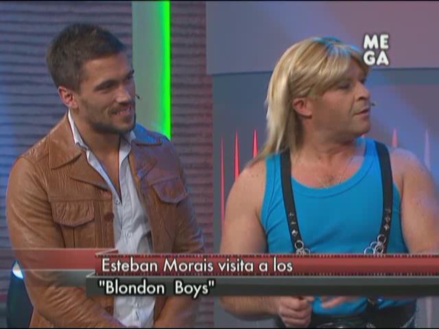 Esteban Morais visitó a los 'Blondon Boys'