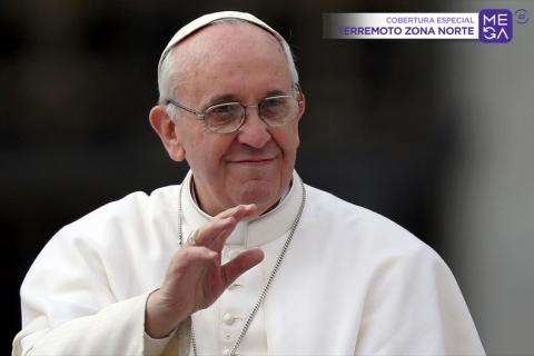 Papa envía carta de apoyo tras el terremoto en la zona norte de Chile