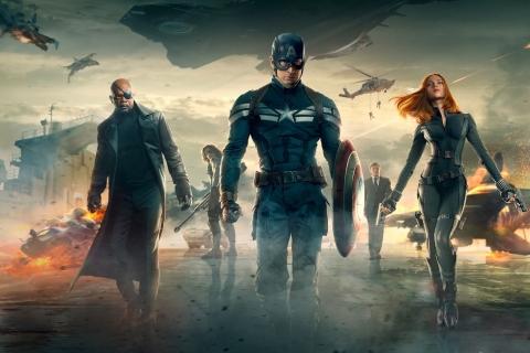 'Capitán América' es líder en la taquilla estadounidense