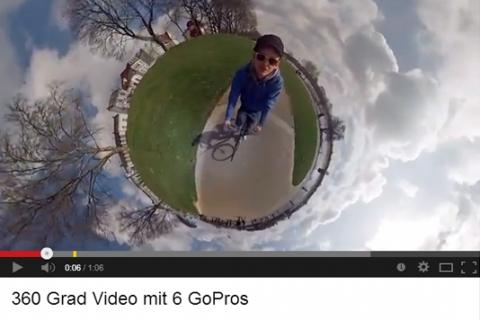 Fotos: Periodista realiza asombroso video con seis cámaras GoPro