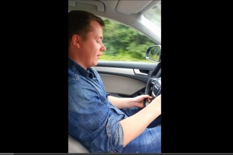 Video: Noruego pierde el control con su GPS