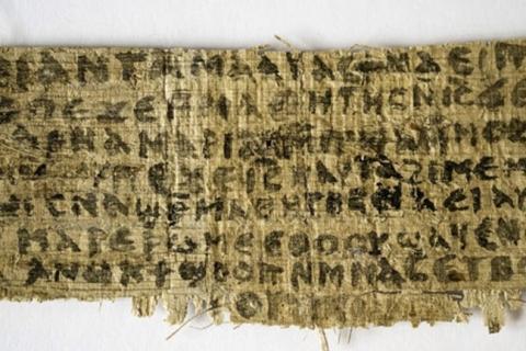 Papiro que revelaría matrimonio de Jesús tiene más de mil años
