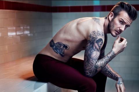 Fotos: David Beckham adelanta provocadora línea de ropa