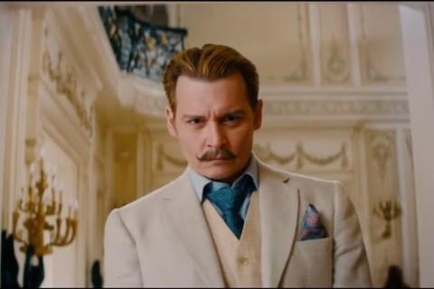 Video: Johnny Depp llega en el primer trailer de ''Mortdecai''