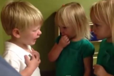Discusión entre dos niños revoluciona la web