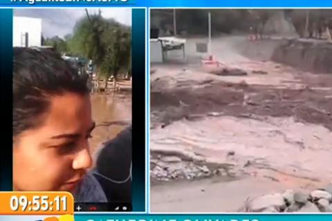 Catherine de Copiapó muestra vía Skype la situación de la ciudad