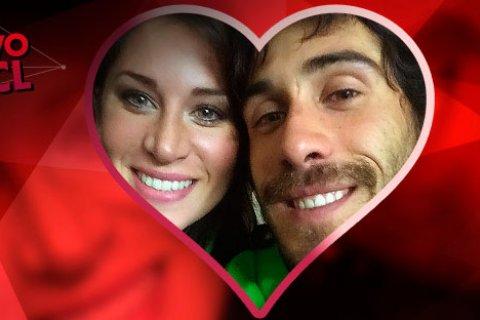 Así viven su amor Pedro y Romina