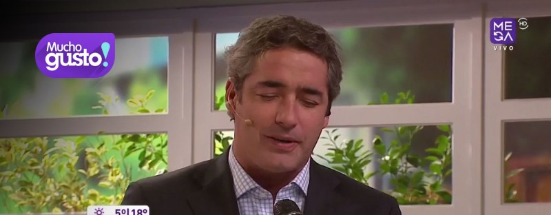 Matrimonio Jose Luis Repenning : JosÉ luis repenning cantÓ en vivo mucho gusto mega cl