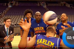 Los Harlem Globetrotters obtienen siete récords Guinness