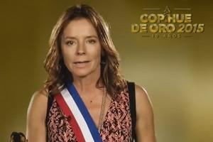 Kathy Salosny se la juega por el Copihue de Oro