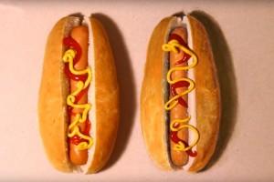 Video: Adivina cuál de los dos hot dog es real