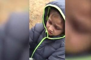 Mira la reacción de un niño al encontrar a su perro perdido