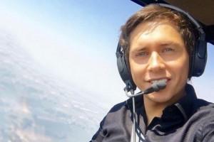 Los detalles del curioso salto en paracaídas de Karol Lucero
