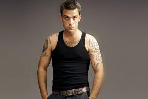 ¡Robbie Williams posa desnudo!