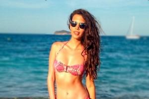 Michelle Carvalho sorprende con sus curvas en Punta Cana