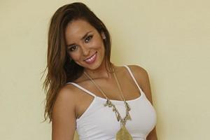 Jhendelyn Núñez desmiente romance con futbolista