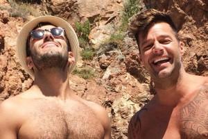 Primera foto familiar de Ricky Martin causa revuelo en las redes sociales