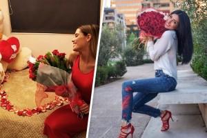 FOTOS: ¡Así celebraron los famosos el día del amor!