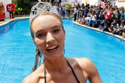 FOTOS: Revelan look que iba a llevar Kika Silva en piscinazo que no salió en TV