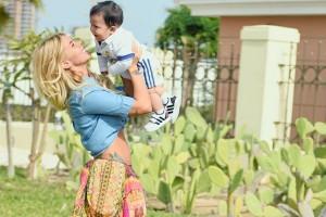 Coté López celebra los 10 meses de su hijo con tierno video