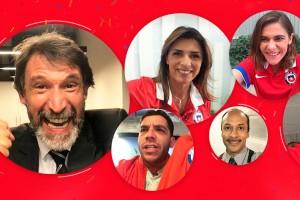 Todo Chile, un solo equipo: Sube tu video apoyando a La Roja