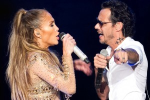 ¡Jennifer López dejó en evidencia a Marc Anthony en pleno concierto!