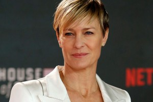 Robin Wright en polémica con House of Cards y Donald Trump