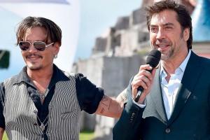 Johnny Depp y Javier Bardem los nuevos monstruos de Universal