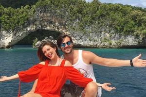 Matias Kosznik comparte video inédito de las paradisíacas vacaciones junto a Euge Lemos
