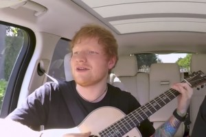 Ed Sheran regresó al Carpool Karaoke de James Corden
