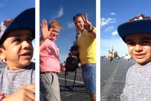 Los cinco momentos que marcaron el primer tour de Miguelito por Moscú