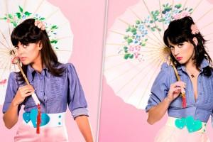 [FOTOS+BACKSTAGE] Exclusivo: Sandra Donoso de Morandé con Compañía se transformó en Katy Perry