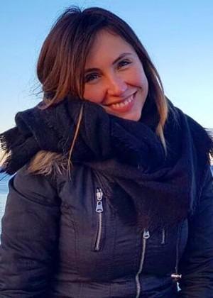 Ángela Duarte soprendió con look estilo 'Frozen'