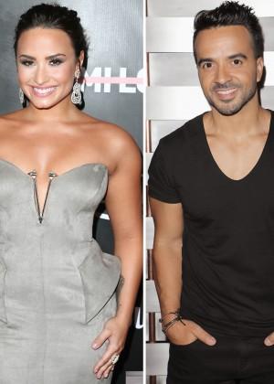 Demi Lovato y Luis Fonsi trabajan en el próximo hit del verano