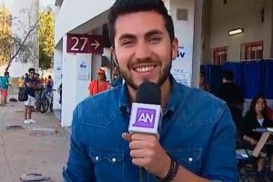 ¡Se lució! Hijo de Luis Jara sorprendió a todos con su labor como periodista