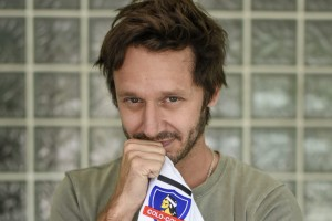 Benjamín Vicuña celebró el triunfo de Colo Colo con tierna postal
