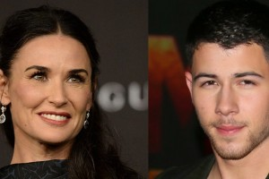 ¡30 años de diferencia! Demi Moore y Nick Jonas serían pareja