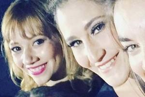 Ingrid Parra, Belén Mora y Sandra Donoso bailan al ritmo de