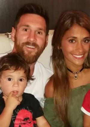 ¡Lionel Messi anunció el nombre y el sexo de su tercer hijo!