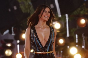Tonka Tomicic deslumbra en la alfombra roja de la Gala de Viña 2018