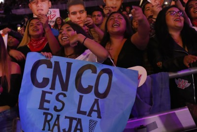 CNCO desató la euforia entre sus fanáticas