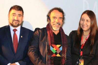 Damián Alcázar en Chile:
