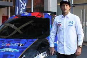 Pedro Heller, piloto de rally: