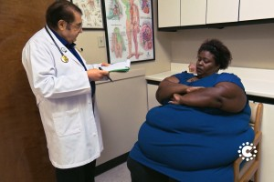 ¡Todo por sus hijos! Esta fue la pelea de Cynthia contra su obesidad
