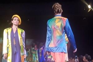 Santiago Fashion Week: Paula Pérez y su arte sobre la pasarela
