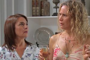 Laura y María Luisa se enteraron del plan de Tomás