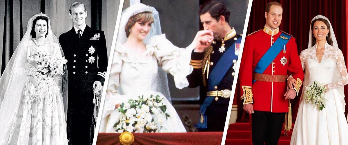 boda real: asÍ cambiÓ la moda y los vestidos de novia