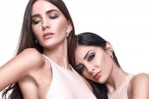 Flavia Medina publicó sexy backstage de sesión de fotos con Aylén Milla