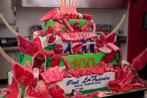 El increíble pastel de carne que preparó Buddy